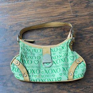 XOXO green purse